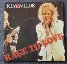 Kim Wilde, rage to love / putty in your hands, SP - 45 tours  France