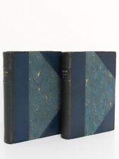 Kim, KIPLING. Illustr. Auguste LEROUX. Delagrave 1936 2 volumes Ex. numéroté