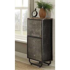 4D Concepts 140209 Locker Collection 2 Door Bookcase - Black/Grey New