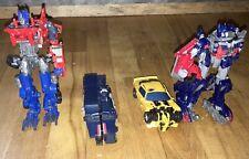 Damaged Transformers Movie Lot Optimus Bumblebee Payload