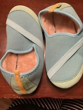 Kozikicks Slippers New Nwt Blue Lined Slip Ons Medium M