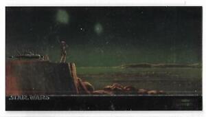 Star Wars Widevision Topps Finest Chromium Card C2 Luke Skywalker wat TOPPS 1995