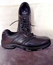 CALLAWAY MENS GOLF SHOES BLACK SOFT SPIKE - WORN ONCE EXCELLENT CONDITION SIZE 8