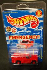 1999 Mattel Hot Wheels Emergency 51 TV Show Fire Rescue Squad Special Edition