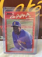 1990 Donruss Ken Griffey Jr. #365 Error Card No Period After INC