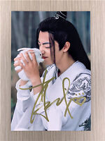 Signed Chen Qingling Wei Wuxian Xiao Zhan Autographed The Untamed Original Photo