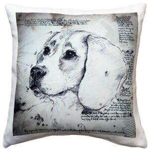 "BeageThrow Pillow Gorgeous 17"" x 17"" has washable cover"