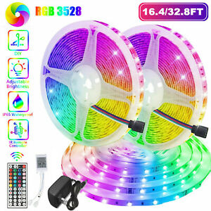 Bedroom Led Lights Products For Sale Ebay Amazon aesthetic lights led strip lights govee 32 8ft rgb colored rope light strip kit with remote and control box for room ceiling bedroom cupboard lighting with bright 5050 led strong 3m adhesive. bedroom led lights products for sale ebay