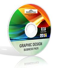 Graphic Design Business Pack DVD - Photoshop, Gimp, Pixlr, Canva and more!