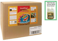 Tetra Koi Vibrance Color Enhancing Premium Fish Food 16.5l lbs 16458 FREE BARLEY