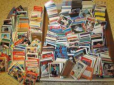 MLB BOSTON RED SOX Huge Lot (Hundreds)of Baseball Cards80's,90's & older