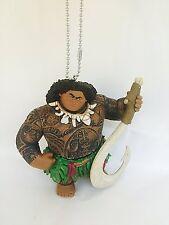 """Disney Moana Maui Demigod Keychain Key Chain Dangler PVC Figure 4.5"""" Figurine"""