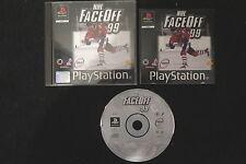PS1 : NHL FACE OFF 99 - Completo ! Gioco ufficiale ! Compatibile PS2 e PS3