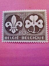 POSTZEGELS  STAMPS - TIMBRE  BELGIQUE - BELGIE JAAR 1957 NR.1022 *(ref.1376)