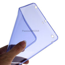 Ultra Thin Soft TPU Silicone Clear Case Cover For Apple iPad mini 1 2 3 4 air 5