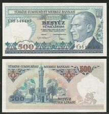 TURCHIA / TURKEY - 500 Lira  L.1970 (1983) Pick 195 UNC