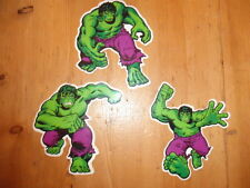 The Incredible Hulk 1980 Marvel TM Comics Group stickers sticker set