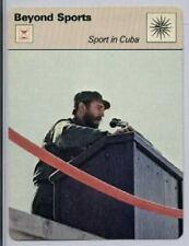 1977 Fidel Castro Baseball Sport in Cuba Sportscaster Card #24-04