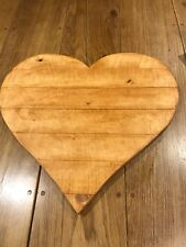 Alternative guest book, weddings party &Christenings, large wooden heart
