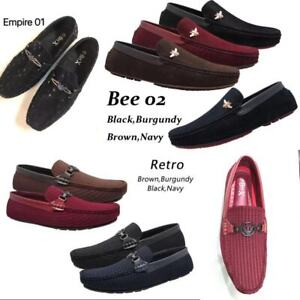 New Mens Driving Casual Shoes Moccasins Loafers Slip On Lightweight Loafer Size: