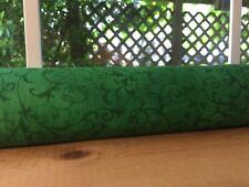 """38"""" Draft Stopper Cedar Filled Door Window Breeze Blocker Green Swirl"""