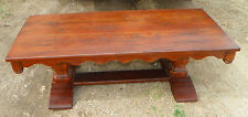Solid Oak Mid Century Coffee Table  (CT150)