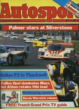 Autosport May 17th 1984 *Vallelunga F2 & Mugello F3*