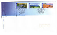 "2002 FDC. Australia. Panoramas of Australia. PictPMK ""DELORAINE"""