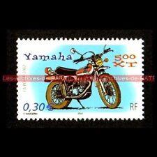 YAMAHA XT 500 - FRANCE Moto Timbre Poste Stamp