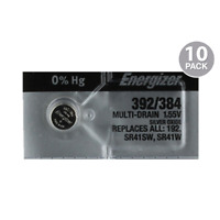 Energizer Batteries 392/384 Watch Battery Cell (10 Pack)