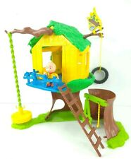 Caillou PBS Tree House Playset Play Set & Figure Character Large Treehouse Toy