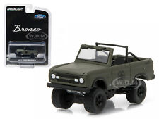 1977 FORD BRONCO MILITARY TRIBUTE SARGE 77 HOBBY EXCLUSIVE 1/64 GREENLIGHT 29842