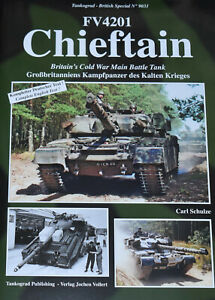 CHIEFTAIN MAIN BATTLE TANK British Army Cold War NEW Military History Tankograd