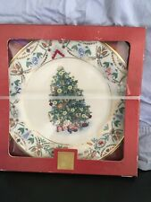 Lenox For The Holidays 2000 Christmas Plate Tree Around World Sweden 2000