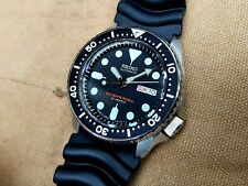 Seiko SKX007J1 Stainless Steel Automatic Diver Watch - U.S. Seller