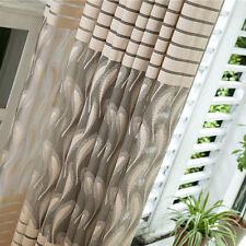 Room Decor Striped Feathers Door Window Curtain Drape Panel Sheer Scarf Valances