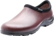 Sloggers 5301BN09 Men's Rain and Garden Shoes with Comfort Insole, Size 9, Brown