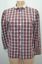 ANTONELLE CHEMISIER .  ROUGE TAILLE 38 T38  M   SHIRT CAMISA BLUSE BLOUSE / 3