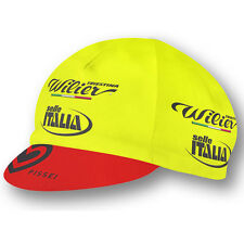 WILIER TRIESTINA SELLE ITALIA 2017 PRO CYCLING TEAM BIKE CAP - Made in Italy