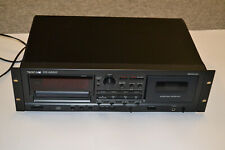 Kassettendeck / CD Player von Tascam Modell CD-A500 Kombi + FB + BDA in Schwarz