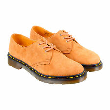 Dr. Martens 1461 Soft Buck Mens Tan Leather Casual Dress Oxfords Shoes UK 7