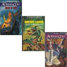 LOT 3 PB Adrian Cole LORD NIGHTMARES THRONE FOOLS PLACE FALLEN ckf