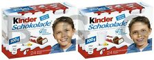 2 x FERRERO - Kinder Chocolate - 300 g  24 pcs = 600 g 48 pcs - SHIPPING FREE