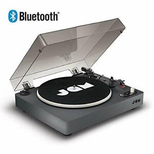 JAM Spun Out Bluetooth Turntable - 33-1/3, 45, and 78 RPM Speeds