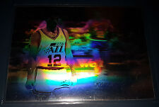 John Stockton 1991-92 Upper Deck AWARD WINNERS HOLOGRAMS Insert Card (no.AW3)