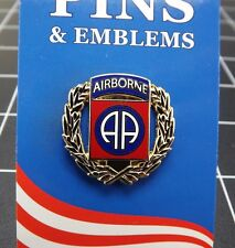 """BRAND NEW Lapel Pin United States Army 082ND Airborne Division Wreath 1 1/16"""""""
