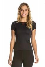 Pearl Izumi Women's Transfer Short Sleeve Base Layer black size L