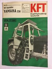 Kraftfahrzeugtechnik KFT 07/1968 ZT 300 Traktor Trecker IFA  Hobby Geschenk DDR
