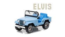 1:43 Greenlight - Elvis Presley Jeep CJ-5 Sierra Blue
