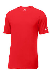 Nike Mens Core Cotton Tee T-Shirt Short Sleeve Gym Workout Athletic - New